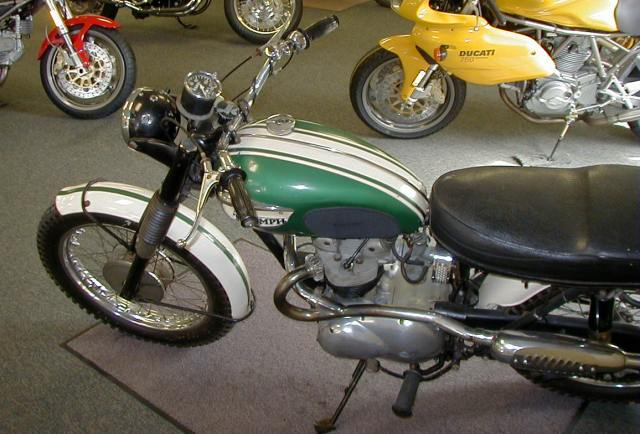 Breathing New Life Into A 1968 Triumph 500